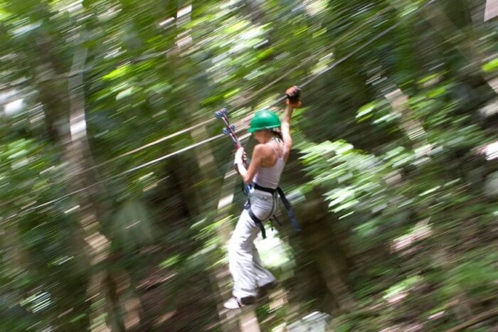 Caves Branch Zip Lining